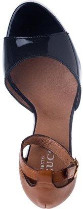 Sesto Meucci FOR JILDOR 375 Wedge Sandal Multi Leather
