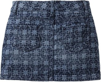 Old Navy Girls Printed Denim Skirts