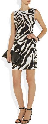 Diane von Furstenberg Glasmary zebra-print silk-jersey dress