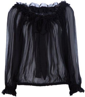 Alexander McQueen Pleated blouse
