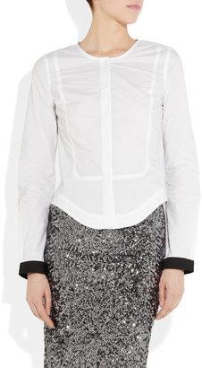 Karl Lagerfeld Bao cotton-poplin shirt