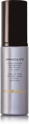 Hourglass - Immaculate® Liquid Powder Foundation - Porcelain, 30ml $56 thestylecure.com