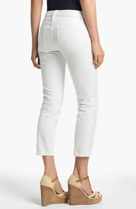 Tory Burch 'Alexa' Crop Skinny Stretch Jeans
