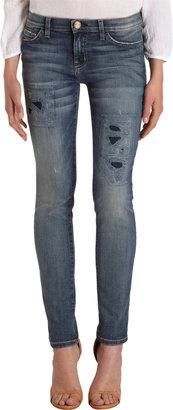 Current/Elliott Ankle Skinny - Pixie Repair Jeans