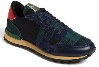 Valentino Tartan Sneaker (Men)