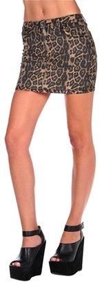 Tripp Reversible Mini Denim Skirt