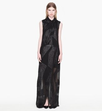 Helmut Lang Eros Fil Coupe Dress
