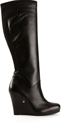 DKNY wedge boot