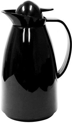 Primula CLOSEOUT! Black 1L Coffee Carafe with Glass Lining
