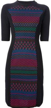 M Missoni patterned knit sweater dress