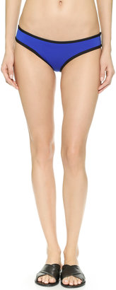 Lisa Lozano Neoprene Tri Bikini Bottoms $88 thestylecure.com