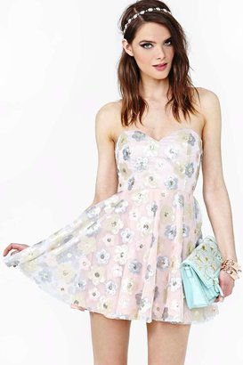 Nasty Gal Sequin Serenade Dress