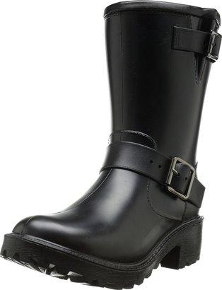dav Women's Moto Rain Shoe