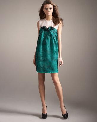 Stella McCartney Corona Dress Green