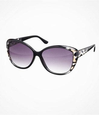 Cat Eye Ombre Leopard Sunglasses