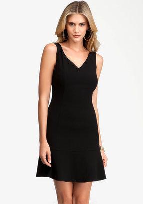 Bebe Candice Peplum Hem Dress