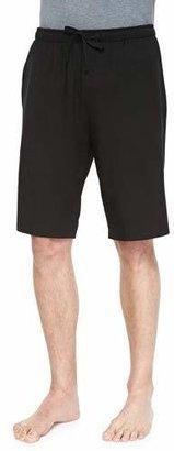 Derek Rose Basel Jersey Lounge Shorts, Black $95 thestylecure.com