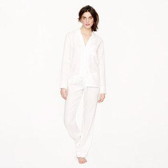 J.Crew Collection Irish linen pajama set
