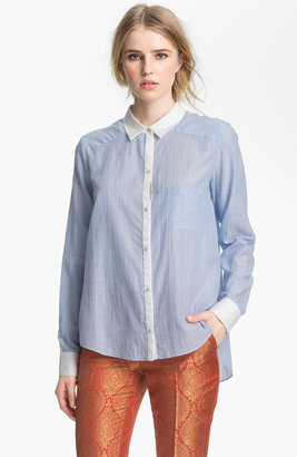 Elizabeth and James 'Shawn' Shirt China Blue Large