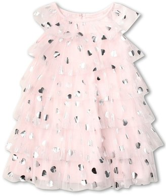 Biscotti Follow Your Heart Dress (Infant) (Pink) - Apparel