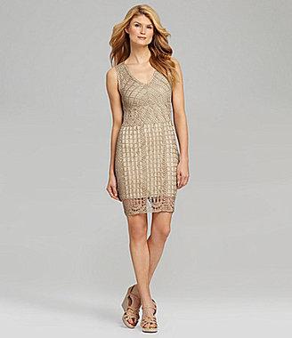 Antonio Melani Eden Crochet Dress