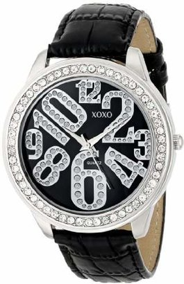 XOXO Women's XO3183 Dial Crocodile Genuine Leather Watch