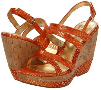 Isola Oleander (Marigold Croco) - Footwear