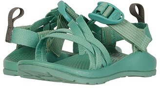 Chaco ZX1 EcoTread (Toddler/Little Kid/Big Kid) (Creme De Menthe) Girls Shoes