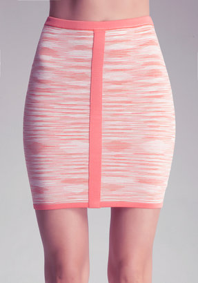 Bebe Spacedye Pencil Skirt