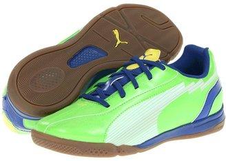 Puma Kids - evoSPEED 5 IT Jr (Little Kid/Big Kid) (Jasmine Green/White/Monaco Blue) - Footwear