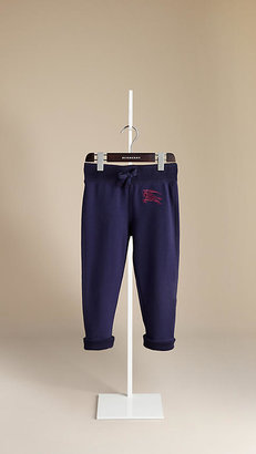 Burberry Cotton Jersey Jogging Trousers