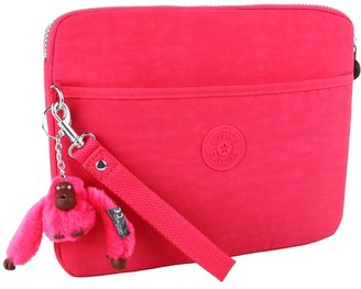 Kipling Karleigh Colorblock Digitouch Sleeve (Vibrant Pink) - Bags and Luggage