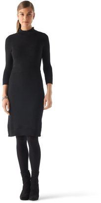 White House Black Market Mockneck Sweater Dress