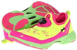 Zoot Sports Ultra Race 4.0 (Safety Yellow/Pink Glow/Green Flash) - Footwear