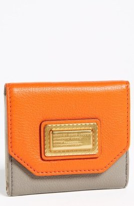 Marc by Marc Jacobs Bifold French Wallet Orange Multi One Size