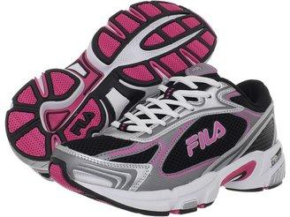 Fila DLS Tenacity (Black/Metallic Silver/Hot Pink) - Footwear