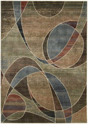 Nourison Expressions XP07 Multicolored Rectangle Rug