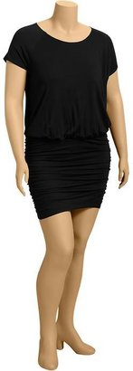 Old Navy Women's Plus Side-Shirred Jersey Dresses