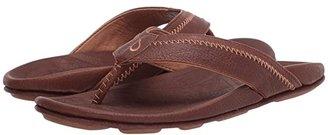 OluKai Hiapo (Teak/Koa) Men's Sandals