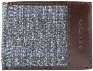 Joseph Abboud Men's Tweed Passcase Wallet