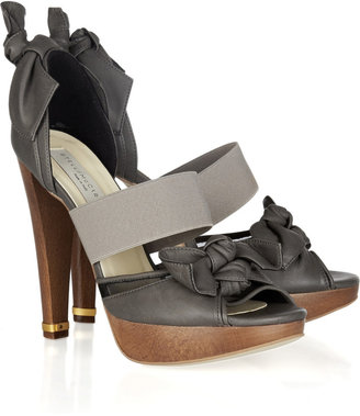 Stella McCartney Valencia faux leather sandals