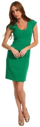 Rachel Roy Scoop Neck Dress (Emerald) - Apparel