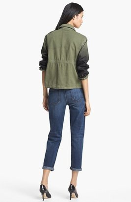 Current/Elliott 'The Lone Soldier' Coated Sleeve Jacket