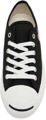 Comme des Garcons Converse Jack Purcell Sneaker in Black & Red