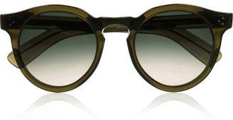 Illesteva Leonard 2 round-frame acetate sunglasses