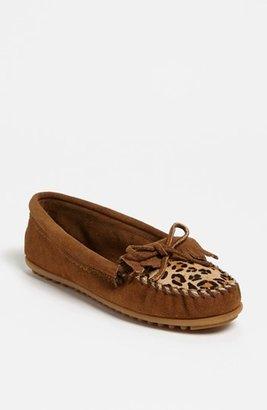 Minnetonka 'Leopard Kilty' Moccasin