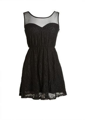 Delia's Mesh Sweetheart Dress