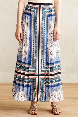 Anthropologie Ranna Gill Araku Maxi Skirt