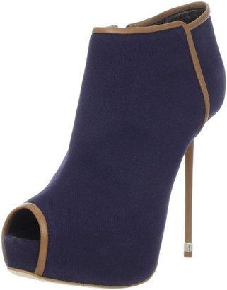 Giuseppe Zanotti Women's Peep-Toe Ankle Bootie