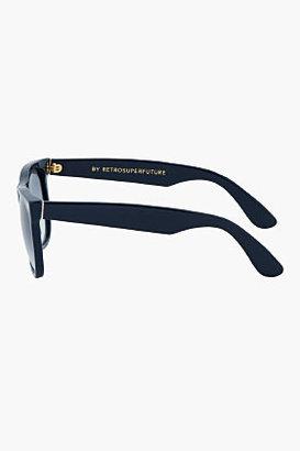 Super Navy blue hand made Classic sunglasses